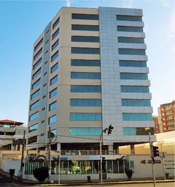 Cliente: Uberlândia Office. Obra: Construção do prédio comercial. - 40 Unida...